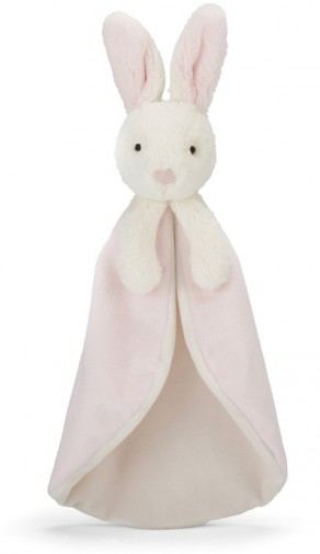 Retired Jellycat - BOBTAIL BUNNY SOOTHER PINK 24CM