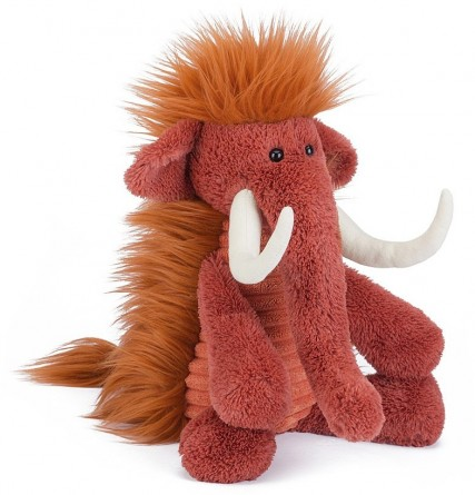 Retired Bears and Animals - SNAGGLEBAGGLE WINSTON WOOLLY MAMMOTH 35CM