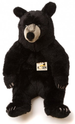 Corfe Bears Kosen Animals Black Bear Sitting 51cm