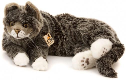 Kosen Grey Cat 4392 Kosen Realistic Plush Cats