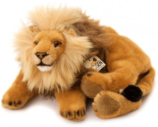 Kosen Wild Animals - LION LYING DOWN 50CM