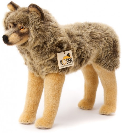 Kosen Wolf Toy 3840 Realistic Wolf Teddy