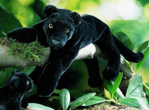 Kosen Wild Animals - BLACK PANTHER 40CM