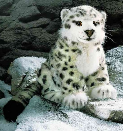 Retired Kosen Animals - SNOW LEOPARD 33CM