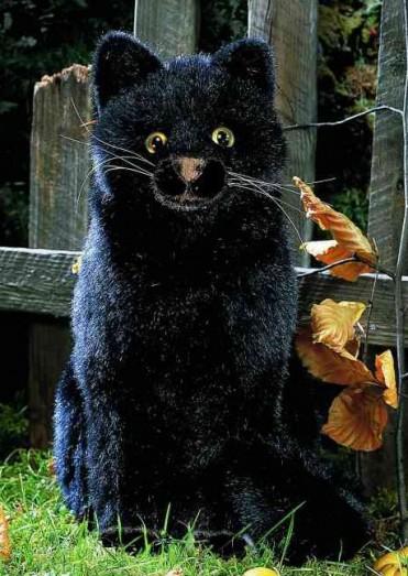 Kosen Tom Cat Black 3956 Kosen Animals