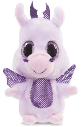 Retired Bears and Animals - YOOHOO LAVENDER DRAGON 5""
