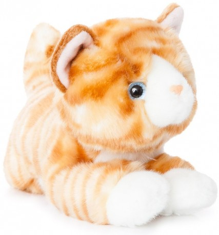 Corfe Bears Plush Animals Orange Tabby Cat 28cm
