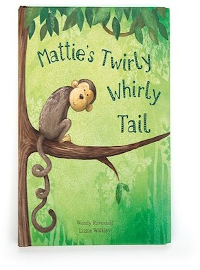 Retired Jellycat - BOOK - MATTIE'S TWIRLY WHIRLY TAIL