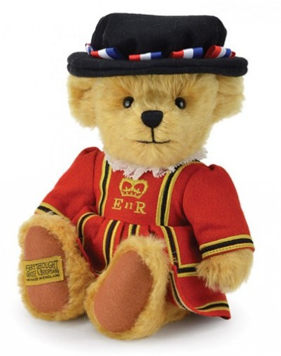 Retired Merrythought - ROYAL BEEFEATER TEDDY BEAR 10""