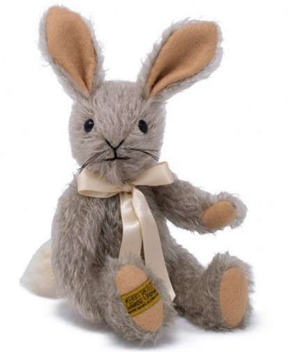 Mohair Animals - MERRYTHOUGHT BINKY BUNNY 9""