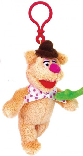 fozzie bear keyring bag clip the muppets movie