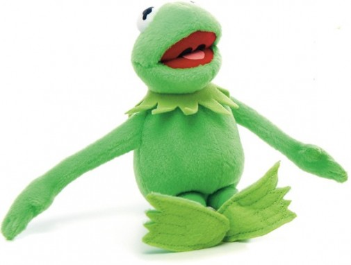 Kermit The Frog Cuddly Toy The Muppets Movie