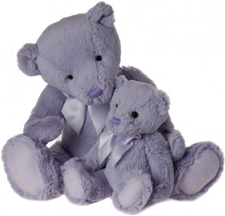 Retired Charlie Bears - MY FIRST CHARLIE BEAR LILAC 40CM