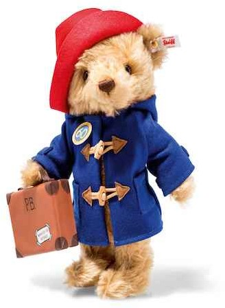 Steiff Limited Licensed Characters - PADDINGTON 60TH ANNIVERSARY 28CM