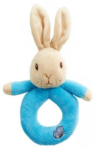 Retired Other - PETER RABBIT PLUSH RING RATTLE 17CM