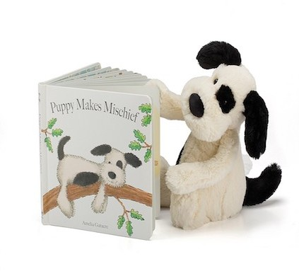 Jellycat Pets - BOOK - PUPPY MAKES MISCHIEF