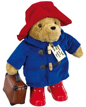 Retired Paddington - PADDINGTON BEAR WITH SUITCASE 38CM