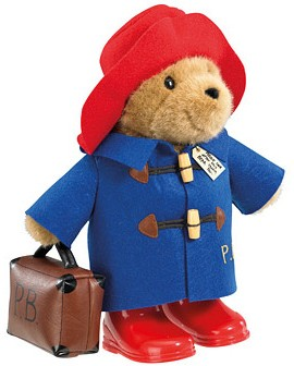 Retired Bears and Animals - PADDINGTON BEAR WITH BOOTS & SUITCASE 36CM