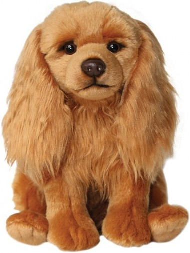 Dog Breeds - CAVALIER RUBY SOFT TOY DOG 30.5CM