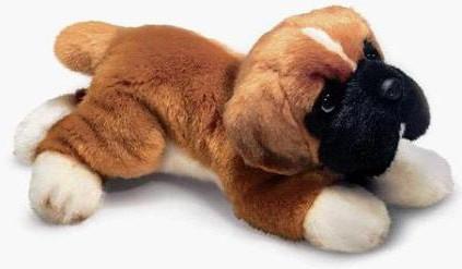 Russ Berrie Boxer Plush Dog Yomiko Classics 35942