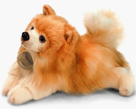 Retired Bears and Animals - POMERANIAN DOG 12""