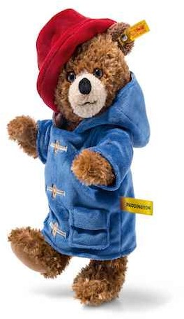 Paddington Bear - PADDINGTON BEAR STEIFF MOVIE EDITION 28CM