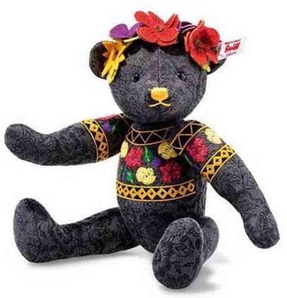 Retired Steiff Bears - DESIGNERS CHOICE FRIDA TEDDY BEAR 29CM