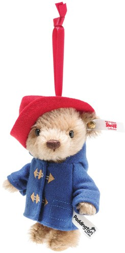 Steiff Limited Licensed Characters - 60TH ANNIVERSARY PADDINGTON ORNAMENT