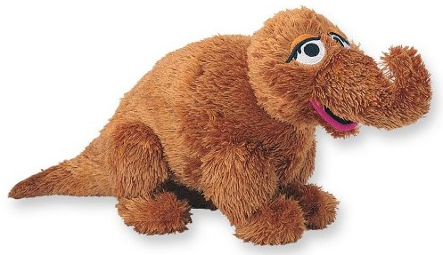Retired Bears and Animals - SNUFFLEUPAGUS 43CM