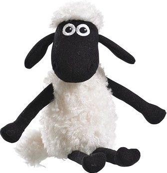 Retired Bears and Animals - SHAUN THE SHEEP BEANIE 15CM