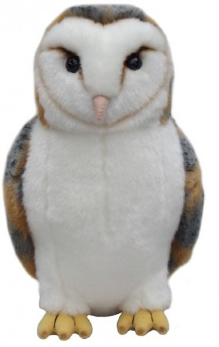 Other Animals - BARN OWL SOFT TOY 30.5CM