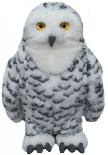 Other Animals - SNOWY OWL SOFT TOY 30.5CM
