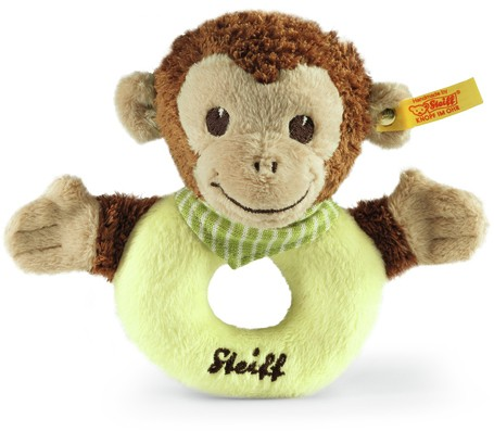 Retired Steiff Bears - JOCKO MONKEY GRIP TOY 12CM