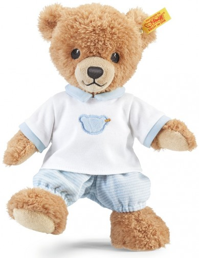 Steiff Baby - SLEEP WELL BEAR BLUE PJS 25CM