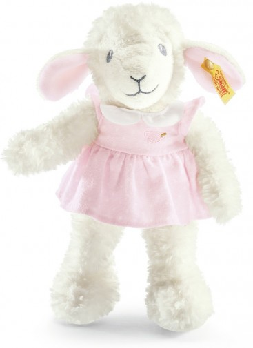 Steiff Baby - SWEET DREAMS LAMB IN DRESS 28CM
