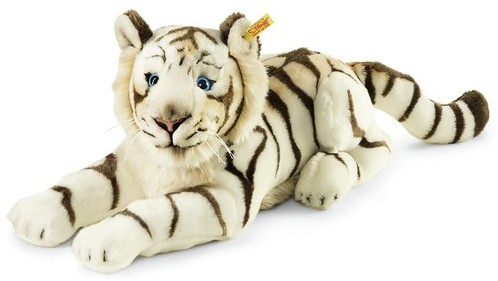 Retired Steiff Bears - BHARAT WHITE TIGER 43CM