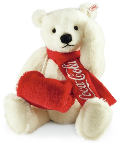 Retired Steiff Bears - COCA COLA POLAR BEAR 38CM