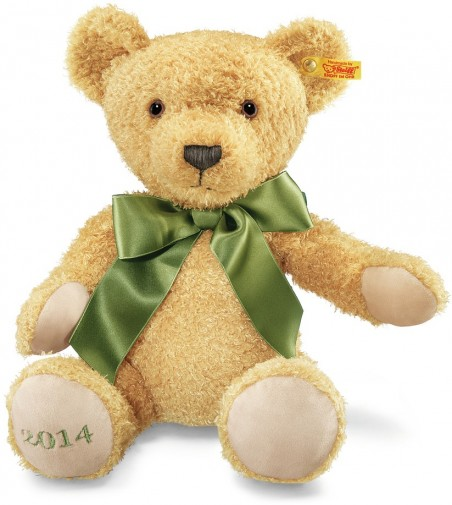 Retired Steiff Bears - COSY YEAR BEAR 2014 38CM