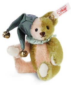 Retired Steiff Bears - HARLEQUIN MINIATURE TEDDY BEAR 10CM