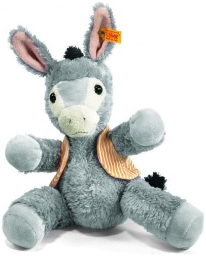 Retired Steiff Bears - ISSY DONKEY HAPPY FRIEND 28CM