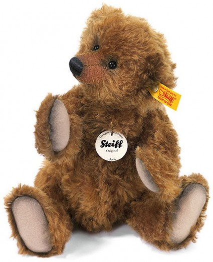 Retired Steiff Bears - JONA TEDDY BEAR CHESTNUT 28CM