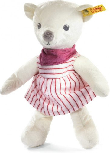 Retired Steiff Bears - KNUFFI TEDDY BEAR PINK 24CM