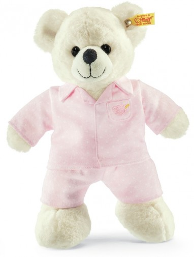 Retired Steiff Bears - LARA TEDDY BEAR IN PYJAMAS 28CM