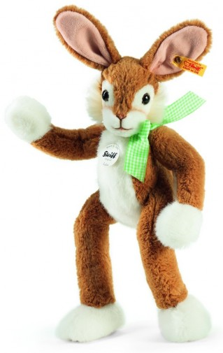 Retired Steiff Bears - LULAC RABBIT GOLDEN BROWN 40CM