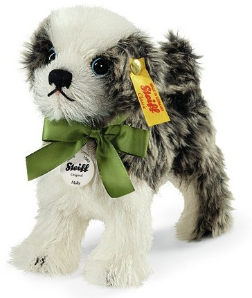 Retired Steiff Bears - MOLLY DOG 14CM
