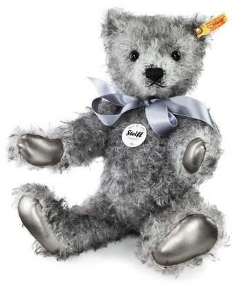 Retired Steiff Bears - OLLY MOHAIR TEDDY BEAR 36CM