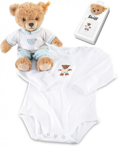 Corfe Bears Gt Steiff Bears Gt Sleep Well Bear Gift Set Blue