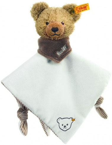 Retired Charlie Bears - SLEEP WELL BEAR COMFORTER BEIGE