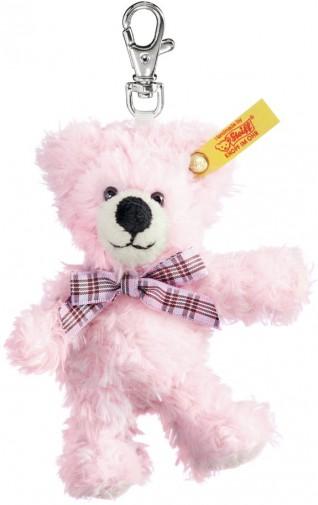 Steiff Teddy Bear Keyring Pink Steiff 112317