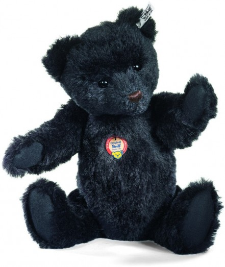 Steiff Teddy Bear Replica 1961 Rare Black Steiff Bear